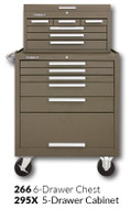 "Kennedy 295X 29"" 5-Drawer Roller Cabinet Combinations"