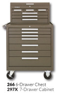 "Kennedy 297X 29"" 7-Drawer Roller Cabinet Combinations"