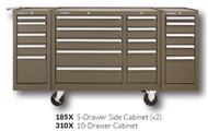 "Kennedy 310X 39"" 10-Drawer Roller Cabinet Combinations"