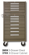 "Kennedy 378X 27"" 8-Drawer Roller Cabinet Combinations"