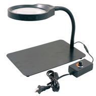 Precise 8X LED Light Desktop Magnifier - 8070-0001