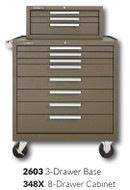 "Kennedy 348X 34"" 8-Drawer Roller Cabinet Combinations"