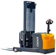 "EKKO EH15T Moving Mast Walkie Reach Truck, 3300 lbs. Load Capacity, 138"" Lift Height - EH15T"