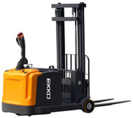 "EKKO EK14-130 Counterbalance Walkie Stacker, 3300 lbs. Load Capacity, 130"" Lift Height - EK14-130"