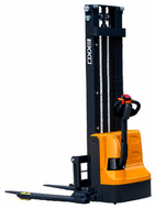 "EKKO EB12E Full Powered Straddle Stacker, 2640 lbs. Load Capacity, 119.4"" Lift Height - EB12E"