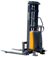 "EKKO EA15B Semi-Electric Straddle Stacker, 3300 lbs. Load Capacity, 119.4"" Lift Height - EA15B"