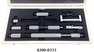 "Precise 4-36"" 7 Piece Inside Micrometer Set - 4200-0333"