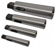 Interstate Morse Taper Sleeves Set, Soft with Hardened Tang, 4 Piece Set - 66-698-2