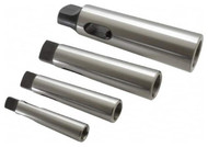 Interstate Morse Taper Sleeves Set, Hardened & Ground Throughout, 4 Piece Set - 66-699-0