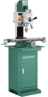 """Grizzly 7"""" x 27"""" Mill/Drill with Stand - G0704"""