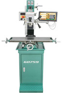 """Grizzly 7"""" x 27"""" Mill/Drill with Stand and DRO - G0759"""