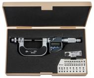 "Mitutoyo Gear Tooth Micrometer, 0-1""/0-25mm - 324-351-30"