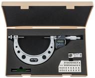 "Mitutoyo Gear Tooth Micrometer, 3-4""/75-100mm - 324-354-30"