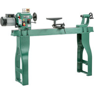 "Grizzly 16"" x 46"" Swivel Head Wood Lathe with DRO"