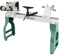 "Grizzly 22"" x 42"" Variable-Speed Wood Lathe - G0766"