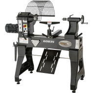 "Grizzly 24"" x 24"" Heavy -Duty Bowl Turning Wood Lathe - G0835"