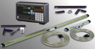 """Mitutoyo Digital Readout DRO 2-Axis Lathe Package, 12"""" x 52"""" - 64PKA049A"""