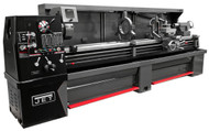 """JET Elite Clutch Lathe EGH-21120, 21"""" x 120"""" with Newall DP700 DRO & Taper Attachment - 892662"""
