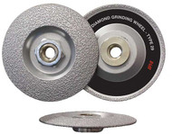 "IPA 4.5"" 3-in-1 Diamond Grinding Wheel - 8150-1"