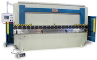 "Baileigh Hydraulic Press Brake 125/127"" Table Length - BP-14010CNC"