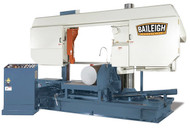 "Baileigh Semi Automatic Heavy Duty Column Bandsaw 31.5"" Round Capacity - BS-800SA"