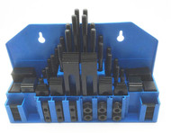 """Precise 58 Piece Clamping Kit for 3/8"""" T-Slot - 3900-2110"""