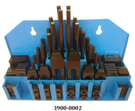 """Precise 58 Piece Clamping Kit for 1/2"""" T-Slot - 3900-0002"""