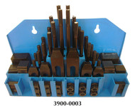 """Precise 58 Piece Clamping Kit for 3/4"""" T-Slot - 3900-0003"""
