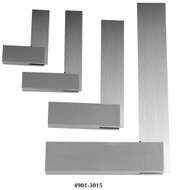 "Precise 4 Piece 4, 6, 9 & 12"" Machinist Steel Square Set - 4901-3015"