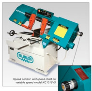 """Clausing/Kalamazoo 10"""" (250mm) Wet Cutting Bandsaw, Variable Speed, 1 Phase - KC1016VS1"""