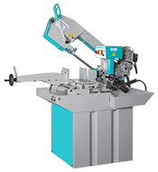 "Clausing-Kalamazoo 9"" Horizontal Swivel Miter Wet Bandsaw, Step Pulley Drive, 1 Phase - MS9S1"