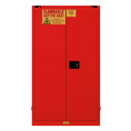Durham FM Approved 60 Gallon, Self Closing, Red Flammable Safety Cabinet - 1060S-17