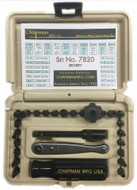Chapman Hex and Pin-In Security Set, Desert Tan Case - 7820-T