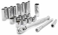 Crescent Tools 30 Pc. Standard & Deep Mechanics Tool Set CTK30SETN - 93-448-9