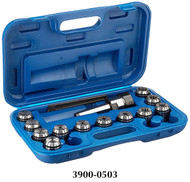 Precise 14 Piece ER-32 MT3 Spring Collet Chuck Set - 3900-0503