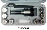 Precise 10 Piece ER-40 R8 Spring Collet Chuck Set - 3900-0004