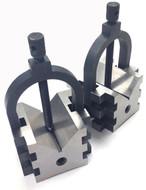Precise Multi-Use V-Blocks & Clamps Set - 3402-0112
