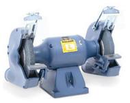 Baldor Industrial Grinder, 10 Inch, 1-1/2 HP, 1800 RPM, 3-Phase, 208-230/460V - 1021W