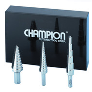 Champion Multi Step Drill Set - MSD-SET