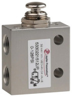 "Jupiter Pneumatics PRO-SOURCE 1/8"" NPT 3 Way, 2 Position Mini Mechanical Valve - 993-110-4"