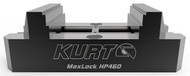 "Kurt MaxLock 5-Axis Self-Centering Vise with Machinable Jaws, 9"" Length - HP460C"
