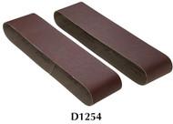 "Shop Fox Woodstock 4"" x 36"" 180 Grit Aluminum Oxide Sanding Belt - 2 Pk. - D1254"
