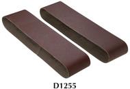 "Shop Fox Woodstock 4"" x 36"" 220 Grit Aluminum Oxide Sanding Belt - 2 Pk. - D1255"