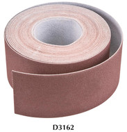 "Shop Fox Woodstock 3"" x 50' 60 Grit Aluminum Oxide Sanding Roll - D3162"
