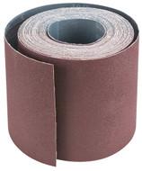 """SteeleX 6"""" x 50' 80 Grit Aluminum Oxide Sanding Roll - D3882"""