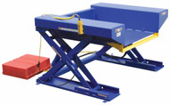 "Vestil Ground Lift & Tilt Table, 4000 lb. Capacity, 44"" x 72-3/4"" - EHLTGT-4472-4-48"