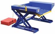 "Vestil Ground Lift & Tilt Table, 2000 lb. Capacity, 52"" x 72-3/4"" - EHLTGT-5272-2-48"