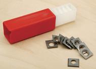 SteeleX Carbide Insert for Spiral Cutterhead - 10 Pack - D3379