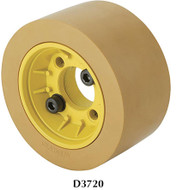 SteeleX Flange with Rubber Rollers - D3720