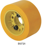 SteeleX Flange with Poly Roller - D3721